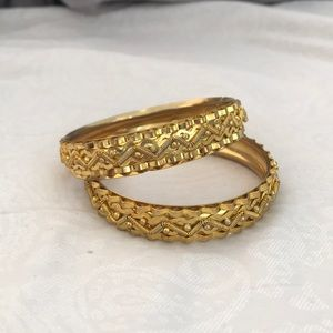 Jewelry - Golden Indian Bangles (Fashion Jewelry)